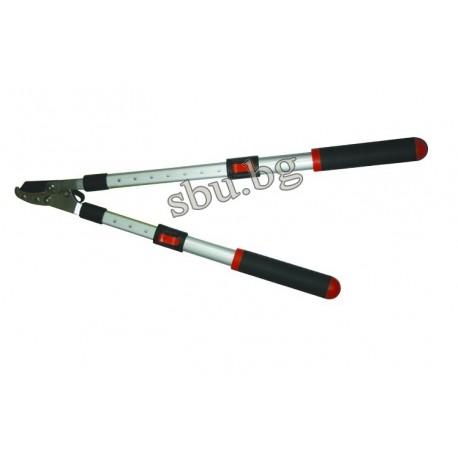 """Ножица за клони с AL дръжки разтегателни 510-720мм 28"""" TopGarden 382910"""