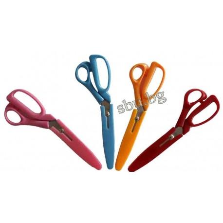 Ножица домакинска 23см с калъф BASS 014826