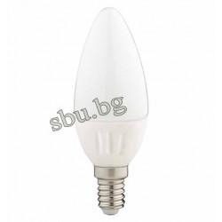 Крушка LED 4W Е14 Свещ матирана 4000К Ceramic 170AL0002005