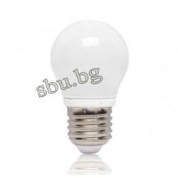 Крушка LED 4W Е27 Сфера матирана 3000К 170AL0000415