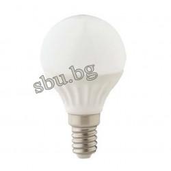 Крушка LED 4W Е14 Сфера матирана 4000К Ceramic 170AL0000501