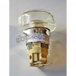 Фасунга за фурна Е14 със стъкло 3605/01