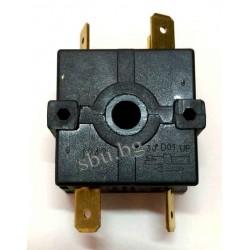 Ключ за печка 4 полож. 5кр. 16А с отвор 746ВП03