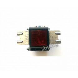 Ключ клавишен 1-ен светещ широка планка D2000 14269