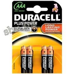 Батерия Duracell 1,5V алкална LR03 МN 2400 ААА