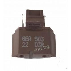 Реле за хладилник 4 контакта 8EA503 22D3R кафяво F115 MSDA1