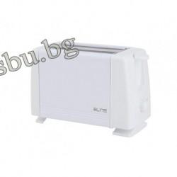 Тостер за филийки ELITE бял ТТ-0266