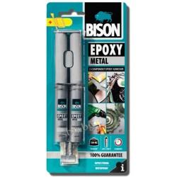 Лепило BISON Епокси метал течна стоманa 24мл