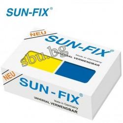 Лепило двукомпонентно SUN-FIX маджун заварка 100гр