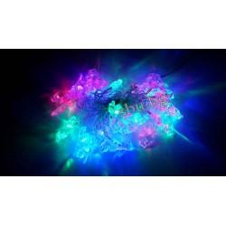 Украса коледна LED кристал Ангелче многоцв. D13-039