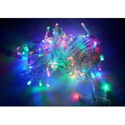 Украса коледна LED тип въже 100л многоцв. D8-124