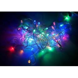 Украса коледна LED тип въже 60л многоцв. D8-60