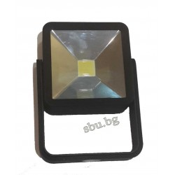 Лампа LED COB прожектор квадрат стойка с магнит 4хААА