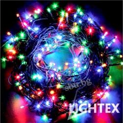 Украса LED светещо въже 100бр. 10м 3,6W RGB IP44 230V LIGHTEX