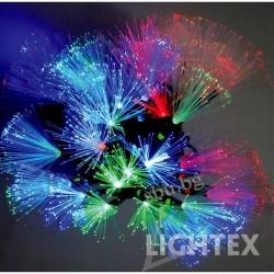 Украса LED фиброоптични влакна 30бр. 4,1м 3,6W цветни IP20 230V LIGHTEX