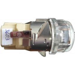 Фасунга за фурна Е14 със стъкло 3602/3603
