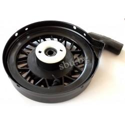 Стартер генератор за косачка черен ф150-дупки 9/12см