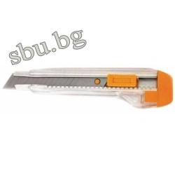 Нож макетен прозрачен 370104